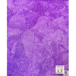Etamine Brittney Scintillant 11 fils  - Violette