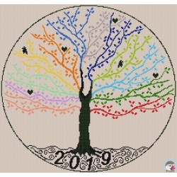 SAL 365 Jours Broderie - 2019