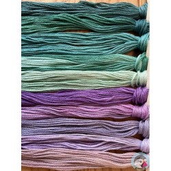 Thread Pack - Purples/Teals  Le Fil Atalie