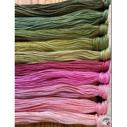 Thread Pack - Pinks/Greens  Le Fil Atalie