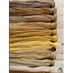 Thread Pack - Yellow Le Fil Atalie