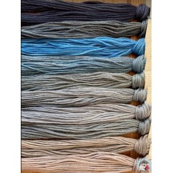 Thread Pack - Grey/Blues  Le Fil Atalie