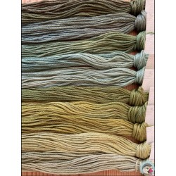 Thread Pack - Greens  Le Fil Atalie