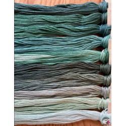 Thread Pack - Teals  Le Fil Atalie