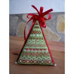 3D  Folklore Christmas Tree