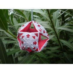 Christmas Snowflake Bauble