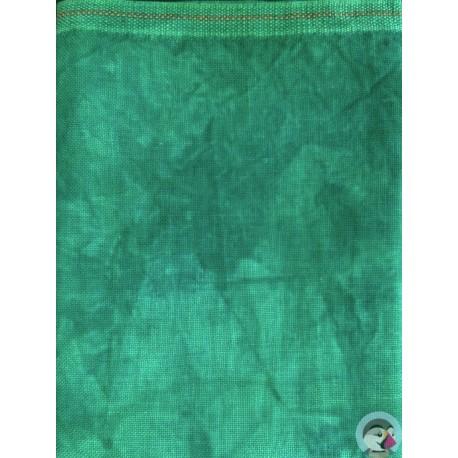 36 count Linen - Emerald
