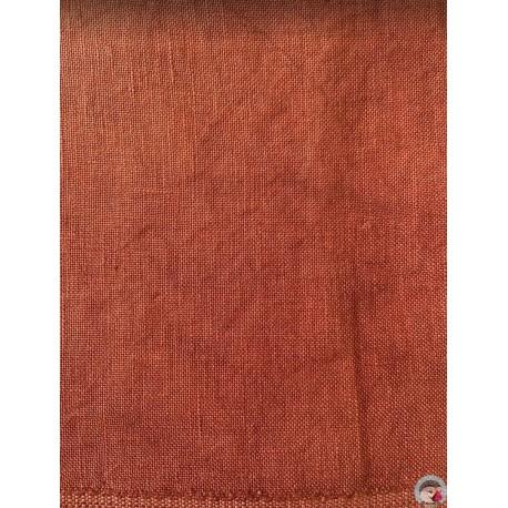 36 count Linen - Terracotta