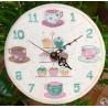 Horloge Tea Time