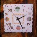 Horloge Cupcake